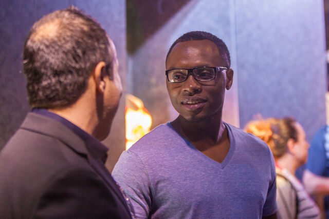 File:Actor Malcolm Goodwin at the Heroes Reborn Experience produced by VSL.jpg