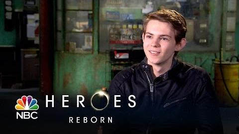 Heroes Reborn - Robbie Kay (Interview)