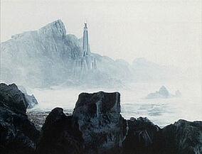 Death zone with dark tower