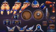 Lost Vikings - Olaf cosplay 2