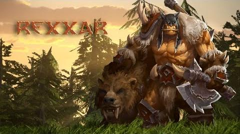 Heroes of the Storm – Rexxar Trailer