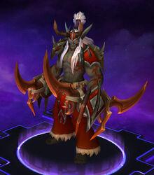Illidan - Eredar Armor - Crimson