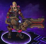Zarya - Thunder Guard - Spectre