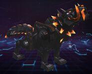 Obsidian Cyber Wolf