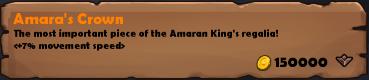 Amara's Crown 2