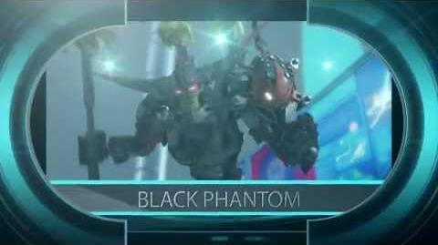 Hero Factory Character spot - Black Phantom!