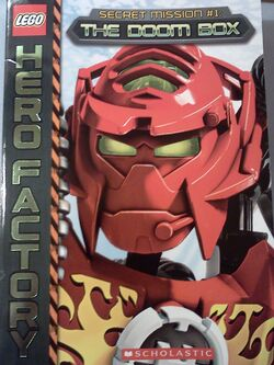 Hero Factory Secret Mission The Doom Box