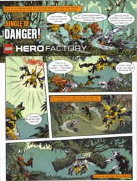 Jungle Of Danger! Page 1