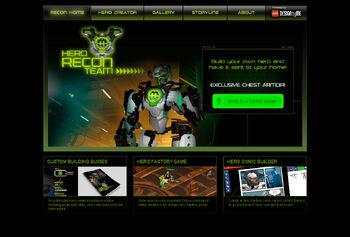 Hero Recon Team Website