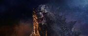 Godzilla facing the 8-Legged M.U.T.O.