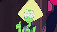 Peridot Thumbs Up