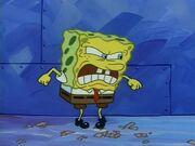 SpongeBob's meltdown