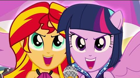 Welcome To The Show - MLP Equestria Girls - Rainbow Rocks! HD