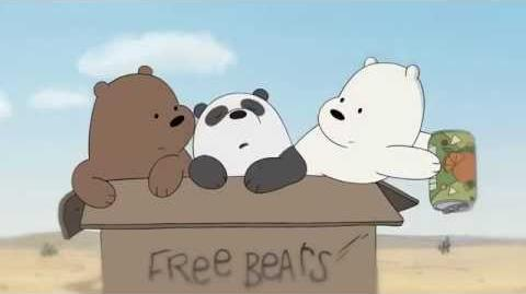 We Bare Bears - Grizz & Panda's Friendship (Song) With Lyrics - The Road HD