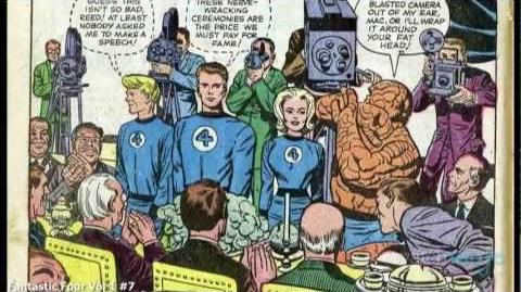 Superhero Origins The Fantastic Four