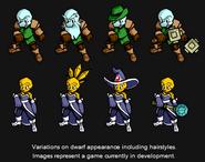 Gemstone Dwarfs Pre-Appearance