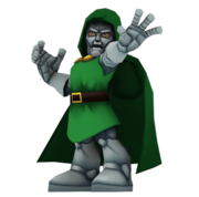 Dr. Doom Full Body