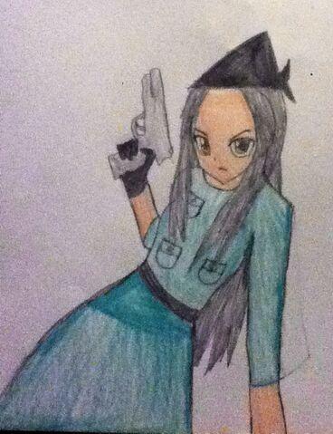 File:Argentina in her war uniform.JPG