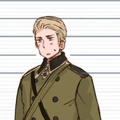 Germany in Eastern Front uniform.