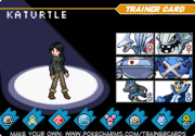 Turtle trainer card