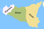 Tribes of Sicily by 11th century BC