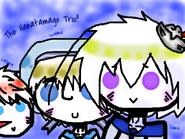 Hanatamago trio