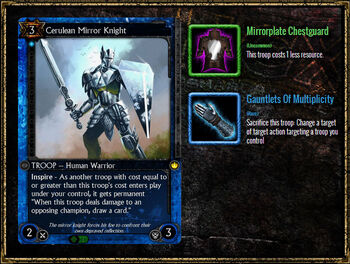 CeruleanMirrorKnight Equipment