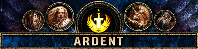 FACTION HEADER ARDENT