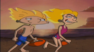 Arnold and Helga on the Beach