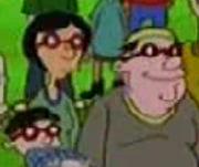 Curly's parents