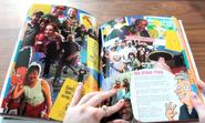 Nickelodeon Yearbook HA! page