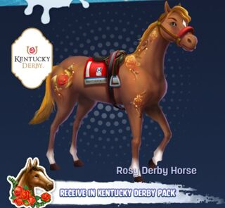 Rose Derby horse tier 1