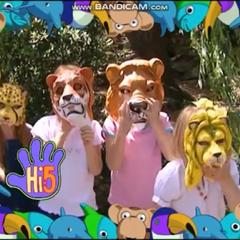 Frame for children for Series 1, Animals Week