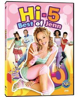 Hi-5 USA The Best Of Jenn dvd