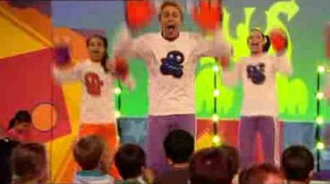 Hi-5 Happy Monster Dance