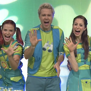 Cast wore for the first time in August 2013 to promo the Hi-5 House Party