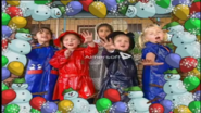 Children's Framework Snow Party
