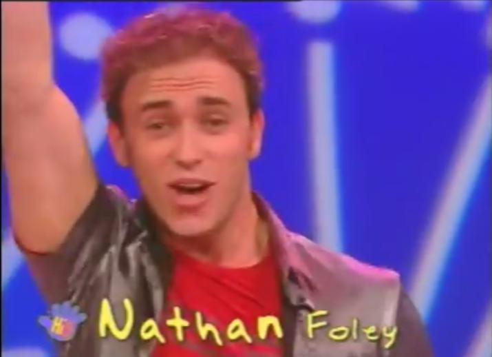 gay Nathan hi-5