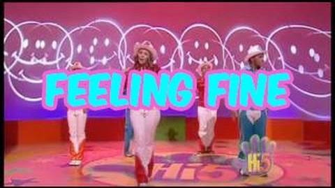 Feeling Fine - Hi-5 - Season 6 Song of the Week
