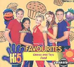 Hi-5 VCD Games And Toys & Food
