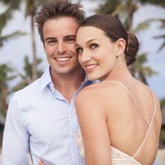 Tim with his wife (Stephanie Maddren)