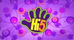 Hi-5 logo 2006-08 screen version