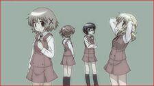 Hidamari Sketch Wikia - Season One Ending Scene B