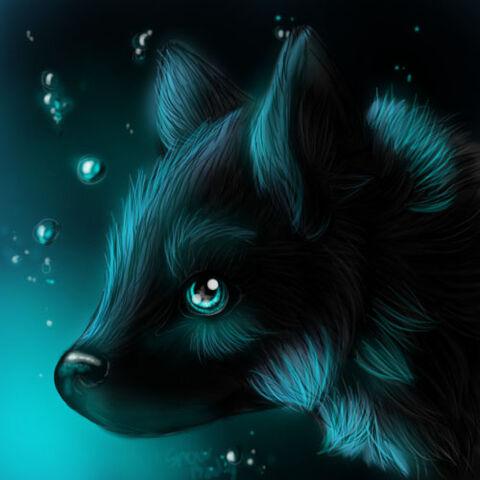 File:Wolf in blue light by snow body-d48jdb0.jpg