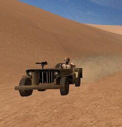 Willys Jeep (Hamada al-Hamra)