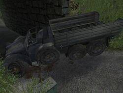Krupp Protze Kfz 70 wreck