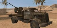 Opel Blitz T3.6S with FlaK 38