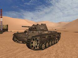 Panzer III (Hamada al-Hamra)