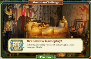Guardian challange Tut's Tomb