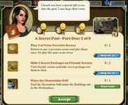 A secret past - Part One 1 of 9 Quests